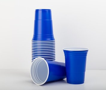 American Red Cup Blauw (473ML)
