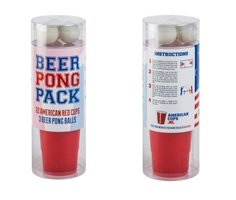 American Red Cup BeerPong set