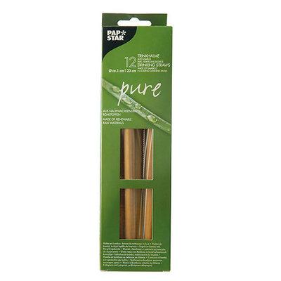 Bamboe rietjes