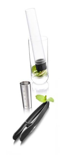 VacuVin Muddler & Tools cocktailset