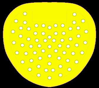 urinoirrooster geel